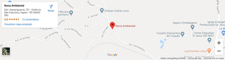 Localização Nova Ambiental