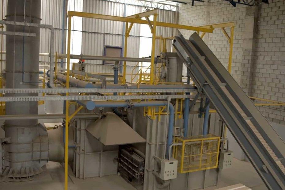 incineração de resíduos industriais