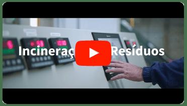 vídeo Incineração de Resíduos Industriais
